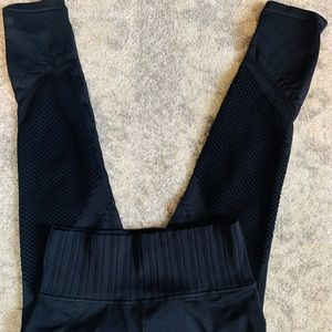 COPY - Athleta Leggings Black with Mesh on Legs W…
